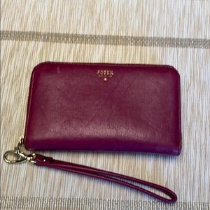 FOSSIL PURPLE WRISTLET